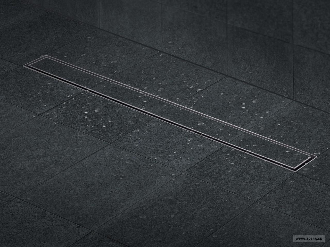 Sprchový podlahový žľab 80cm - na dlažbu 2