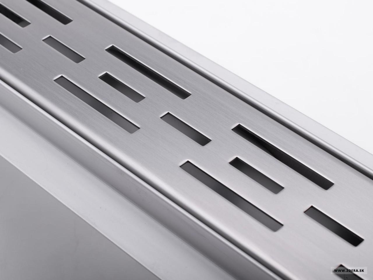 Sprchový podlahový žľab 80cm - čiary 1