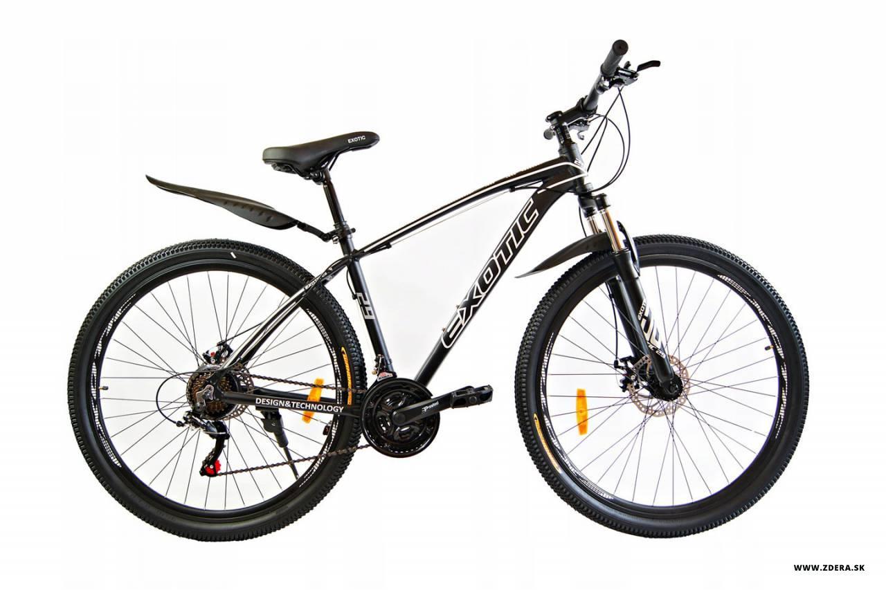 Horský bicykel 29 MTB EXOTIC - 17.5 - čierna/biela
